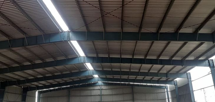 prefabricated industrial shed in chennai